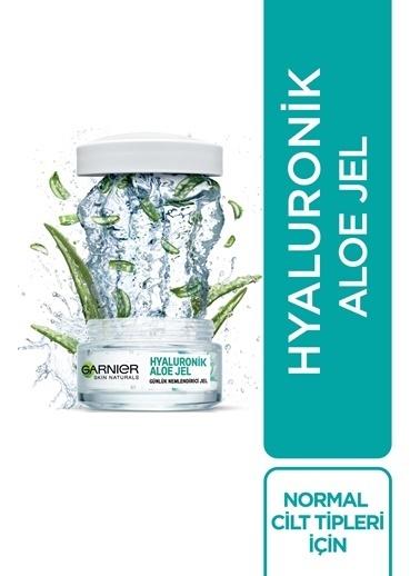 Garnier Günlük Cilt Bakım Seti-Hyaluronik Aloe Jel 50 ml&Hyaluronik Aloe Temizleme Jel Renksiz
